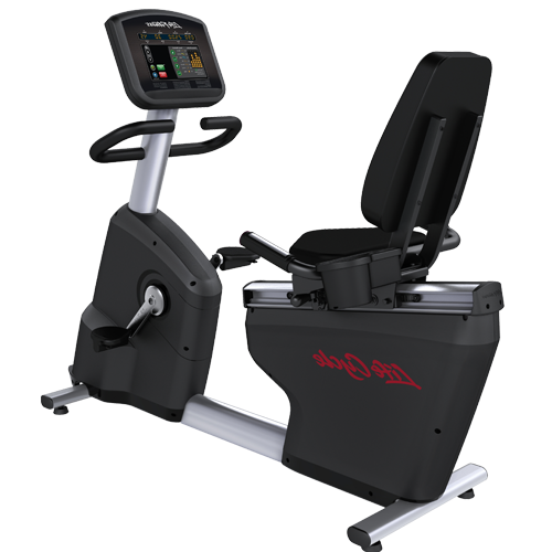 美国 LifeFitness力健Activate Series Recumbent Lifecycle Exercise Bike 健身车